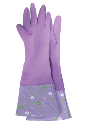 "Latex Gloves Universal ""Chistenot"" (household) with a cuff Meine Liebe"