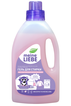 Laundry liquid for wool and silk, Concentrate. Meine Liebe